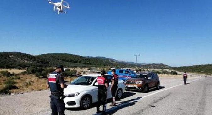 Antalya'da havadan trafik denetimi! Sürücülere ceza yağdı