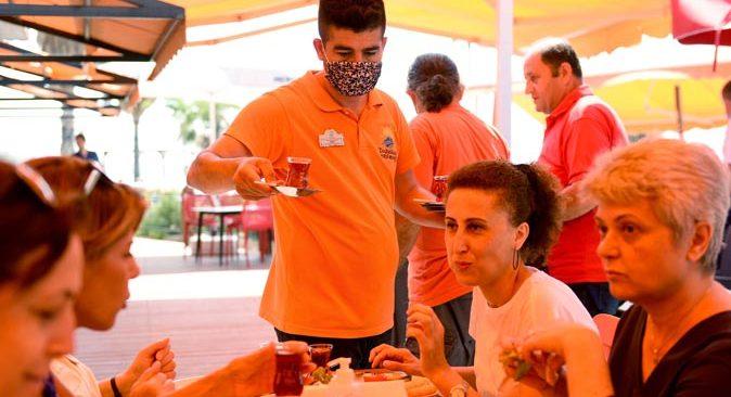Antalyalılara güzel haber! Deniz Yüzü Kafe hizmete açıldı