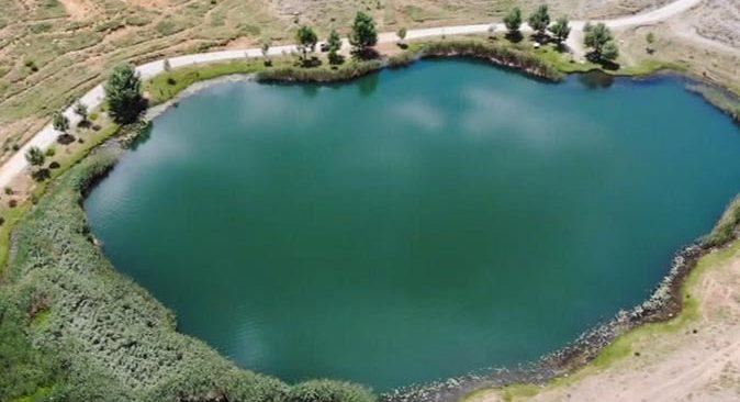 Dipsiz Göl ve Eğrigöl görenleri hayran bıraktı
