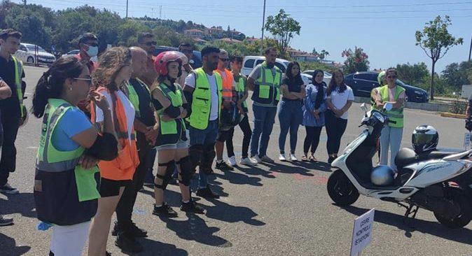 Türkiye'de bir ilk! Motosiklet Güvenli Sürüş Eğitimi projesi Alanya'da başlatıldı