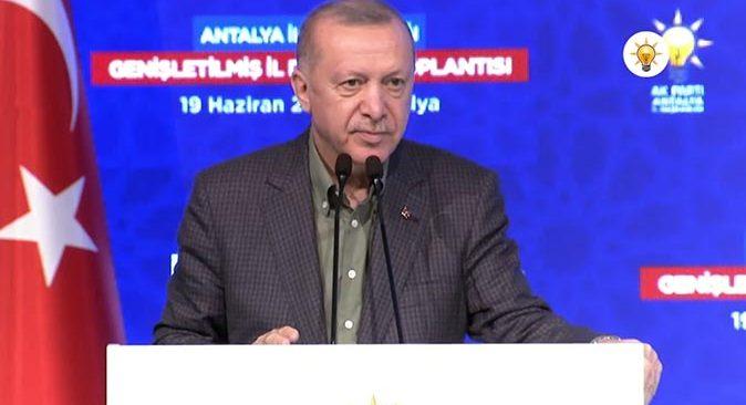 Cumhurbaşkanı Erdoğan, 'Antalya hizmet fakiri durumuna düştü'