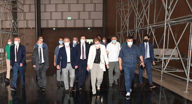 Vali Ersin Yazıcı Antalya Diplomasi Forumu hazırlıklarını inceledi