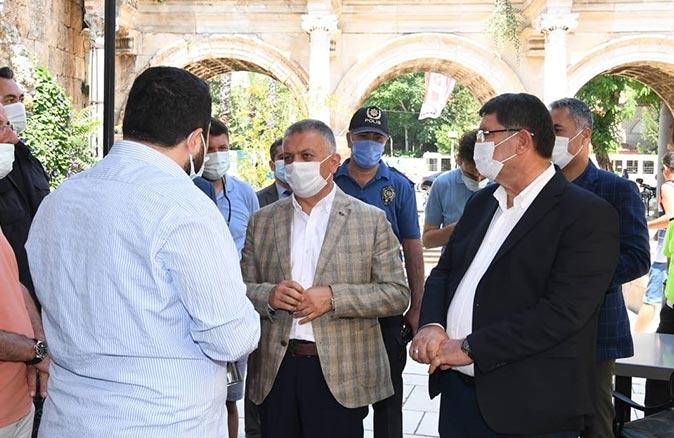 Antalya Valisi Ersin Yazıcı: Eski günlere döneceğiz