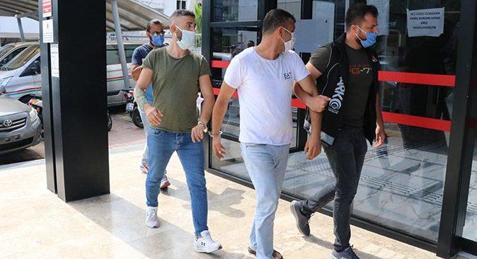 Antalya'da zehir tacirleri yakalandı!