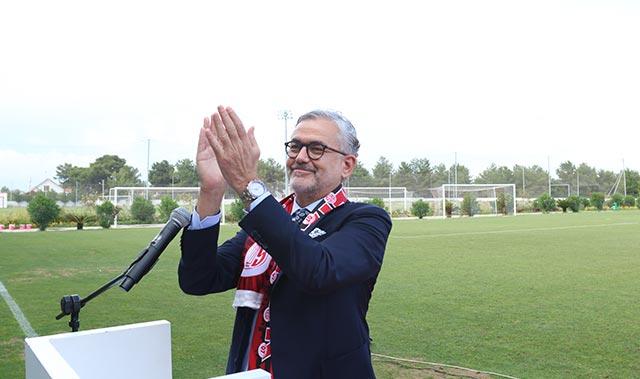 Antalyaspor Kulübü Derneği'nin yeni Başkanı Emin Kemal Hesapcıoğlu