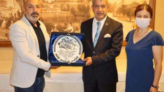 AGF Onursal Başkanı Mevlüt Yeni'den Hatay'a veda ziyareti