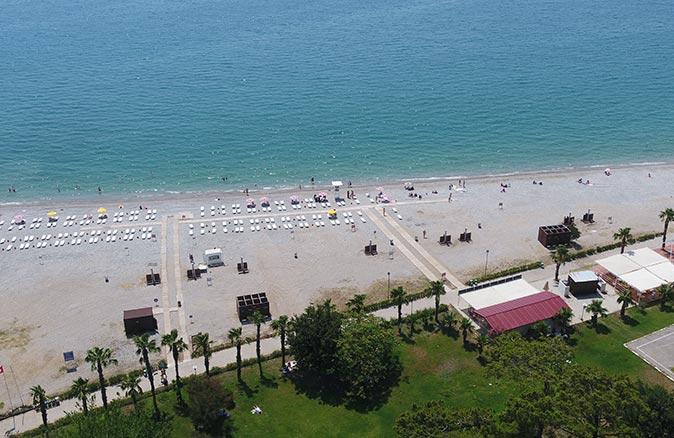 Sarısu Kadınlar Plajı14 Haziran Pazartesi günü kapılarını açıyor