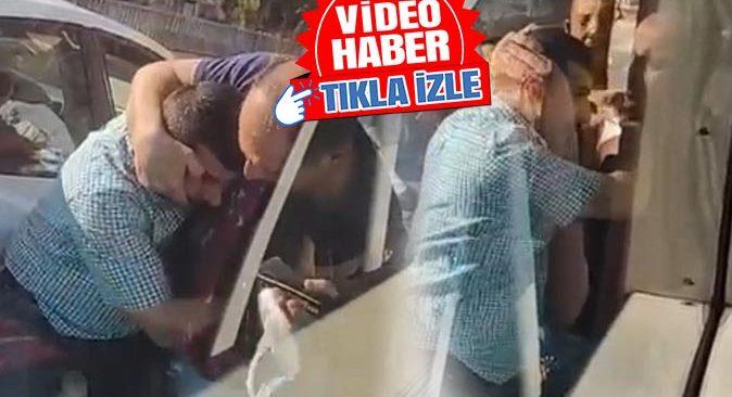 Antalya'da trafikte paspaslı kavga! O anlar saniye saniye kaydedildi