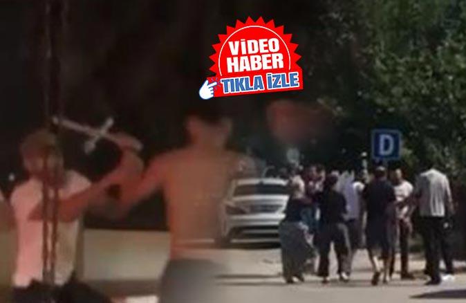 Antalya'nın iki farklı yerinde bijon anahtarlı, tüfekli kavga!