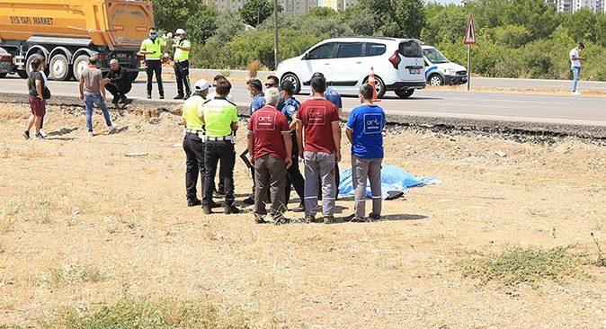 Antalya'da motosiklet kamyonetle çarpıştı! Sürücü Ali Kuru hayatını kaybetti