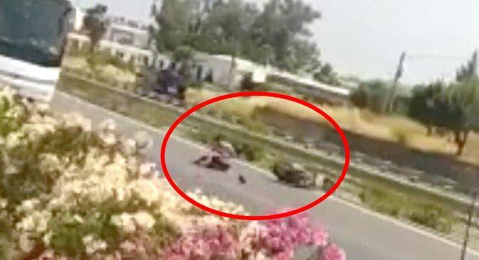 Antalya'da çaldığı motosikletle kaza yaptı! Jandarmaya silah çekerek kaçtı