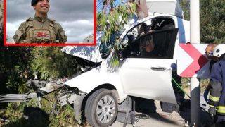 Antalya'ya izne gelen asker Ahmet Esen feci kazada hayatını kaybetti