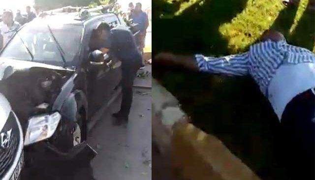 Antalya'da 3 aracın karıştığı kazada yaralılar var...