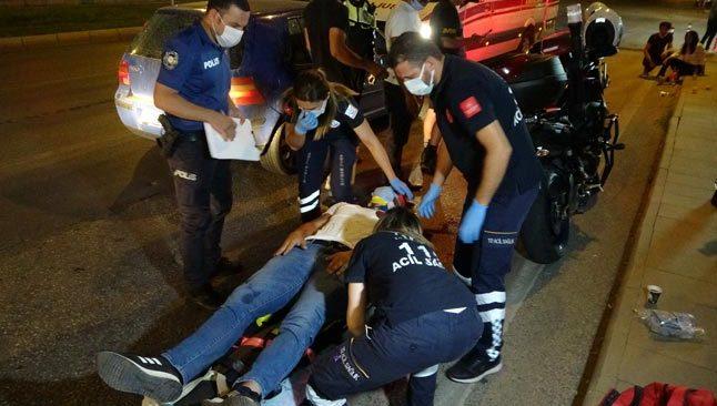 Antalya'da sürücü dehşeti! 5 araca çarptı...