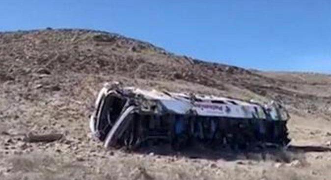 Peru'da katliam gibi kaza: 27 ölü, 16 yaralı