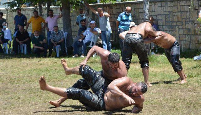 Antalyalı pehlivanlar Kırkpınar'a sıkı hazırlanıyorlar