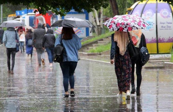 Meteoroloji'den o bölgelerde oturanlara sağanak yağış uyarısı