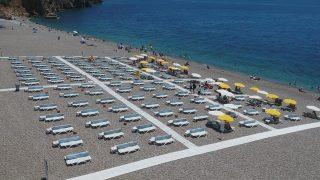 Antalya'da EKDAĞ Konyaaltı ve Lara Plajı hizmete açıldı