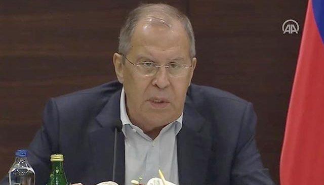 Rusya Dışişleri Bakanı Lavrov: Türkiye ile turizmin devamı için çalışmalarımızı sürdüreceğiz