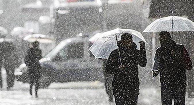 Meteoroloji'den bölge bölge sağanak yağış uyarısı