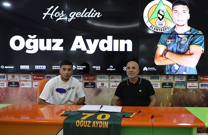 Alanyaspor Oğuz Aydın ile 5 yıllık sözleşme imzaladı