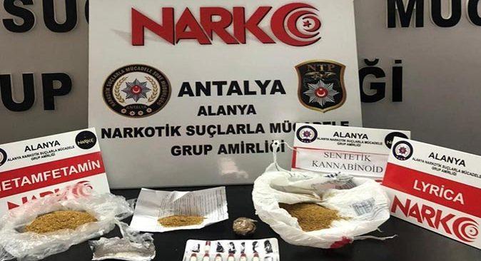 Alanya'da uyuşturucu operasyonu! Şüpheli gözaltına alındı