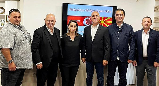 Antalya OSB Başkanı Ali Bahar, MATTO yetkilileri ile buluştu