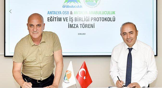 Antalya OSB'den Türkiye'de bir ilk! Arabuluculuk konusunda destek sağlayacak