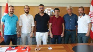 TSYD'den Başkan Aziz Çetin'e ziyaret