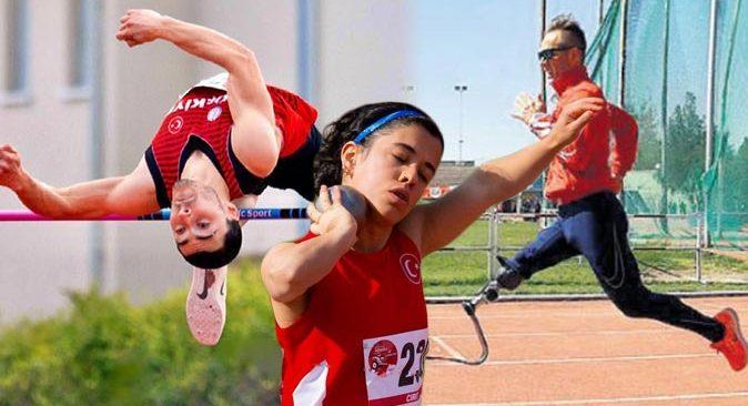 Milli sporcularımız Para Atletizm Avrupa Şampiyonası'nda madalya hedefliyor