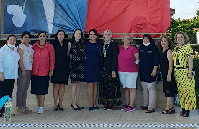 Güneşin Kadınları Girişim ve Üretim Kooperatifi Antalya Başkanı Şükriye Karaben güven tazeledi