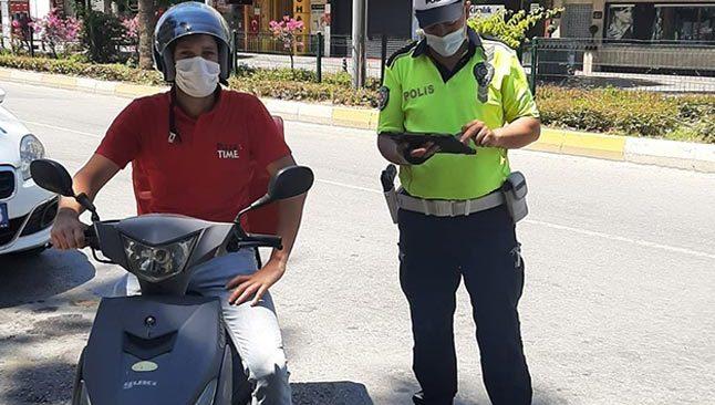 Antalya'da 5 ayda 39 bin sürücü denetlendi