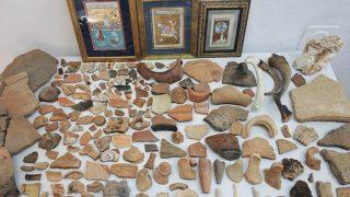 Antalya'da tarihi eser operasyonu! 274 parça ele geçirildi