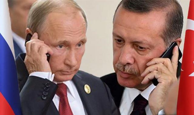 Son Dakika: Cumhurbaşkanı Erdoğan, Putin'le görüştü