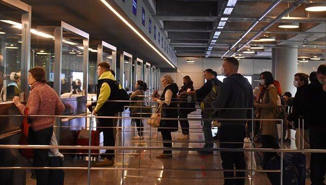 Dünyada turist sayısı 2021'in ilk çeyreğinde yüzde 83 azaldı