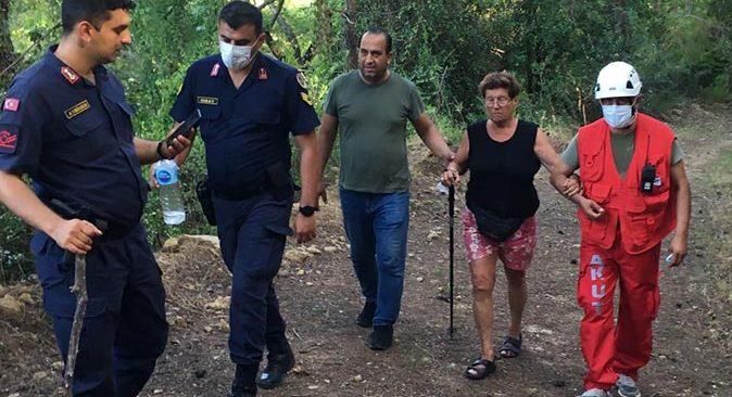 Kurşunlu Şelalesi'nde kaybolan turistler bulundu