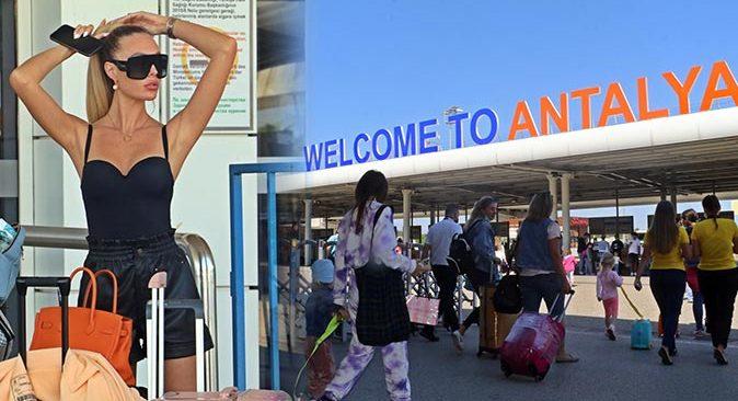 Vaka sayıları düştü, turistler Antalya'ya akın etti