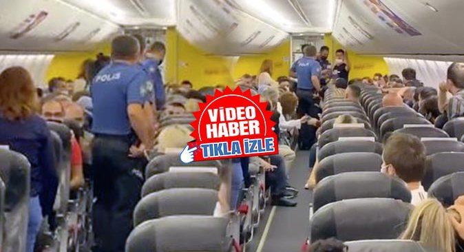 Antalya-İstanbul uçağında taciz iddiası! Şüpheli uçaktan indirildi