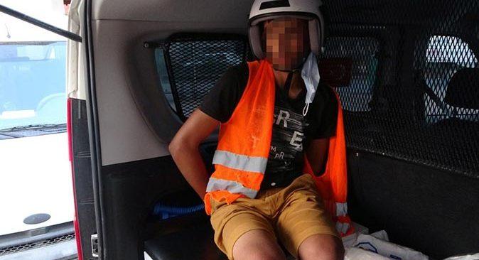 Binbir surat yaka paça yakalanıp tutuklandı