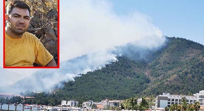 Marmaris'teki yangında orman işçisi Görkem Hasdemir hayatını kaybetti