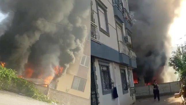 Antalya'da korkutan patlama! Yangında ev alev topuna döndü...