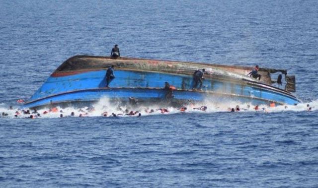 SON DAKİKA: Göçmen teknesi alabora oldu! En az 300 can kaybı