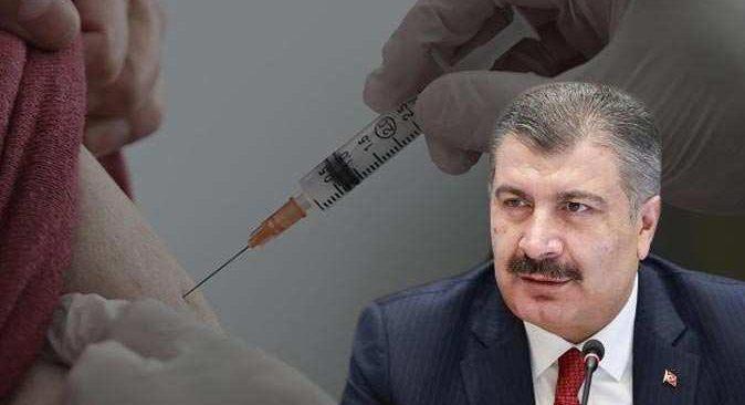 Bakan Koca duyurdu: 50 yaş üzeri ve sağlık çalışanları için 3. doz aşılama başladı