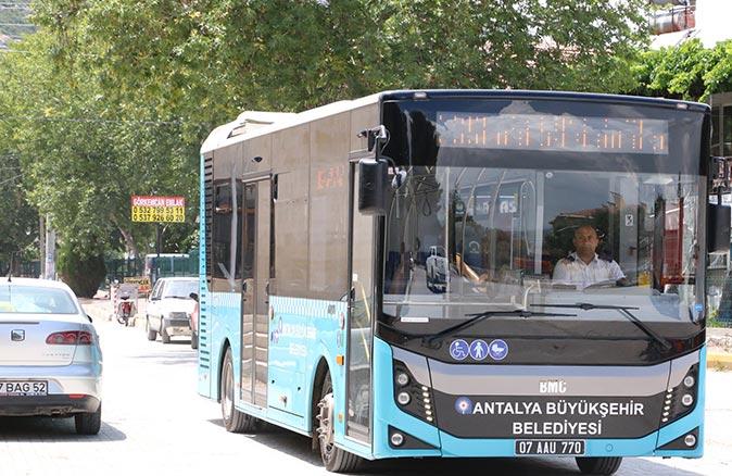 Antalyalılar dikkat! Ulaşım 15 Temmuz'da ücretsiz olacak