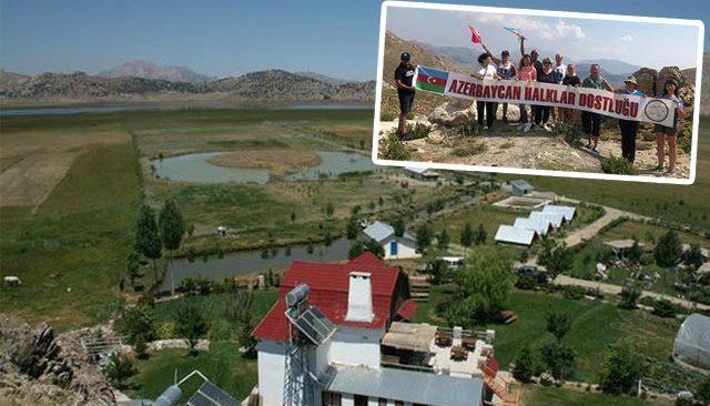 Azerbaycan Halklar Dostluğu Derneği Girdev Gölü'nde buluştu