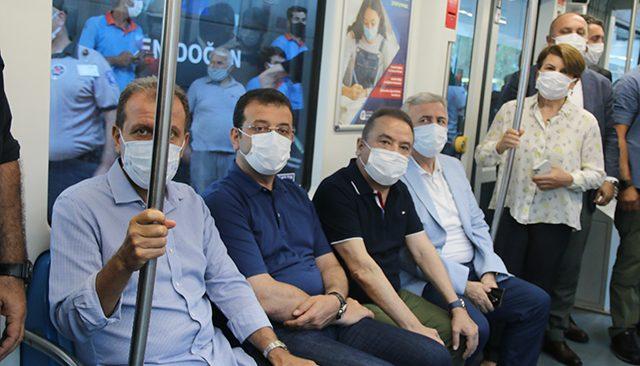 Antalya'da 3. Etap Raylı Sitemin test sürüşü yapıldı!