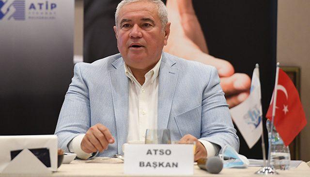 ATSO Başkanı Davut Çetin: Turistik ve sosyal cazibesi olan caddemiz yok