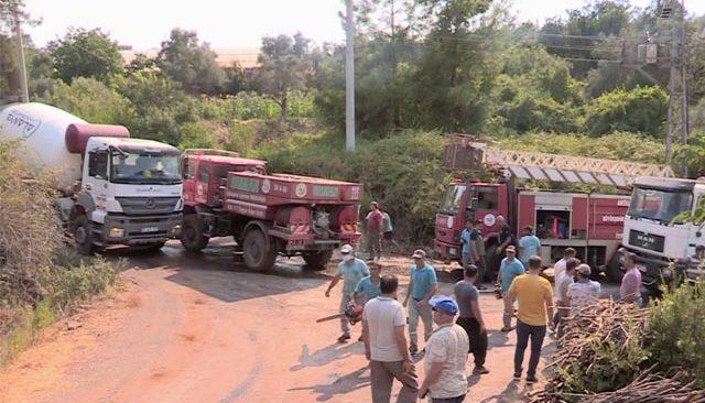 Son dakika! Alanya'da orman yangını kontrol altına alındı