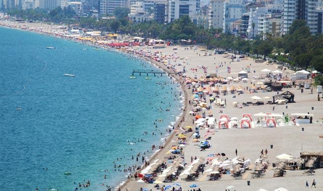 10 Temmuz Cumartesi Antalya'da hava durumu!