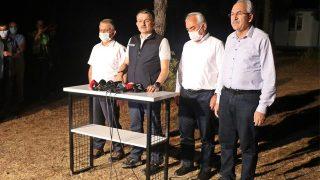 Bakan Pakdemirli Manavgat'taki son durumu paylaştı!